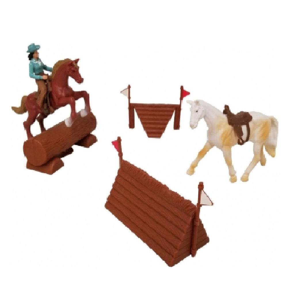 Valley Ranch Western Jump Play Set