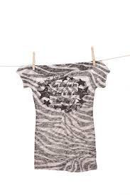 Cowgirl Tuff Zebra Stripe T-Shirt - Aces & Eights Western Wear, Inc.