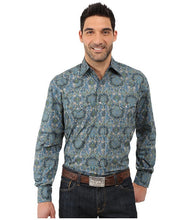 Load image into Gallery viewer, Stetson French Paisley Long Sleeve Shirt