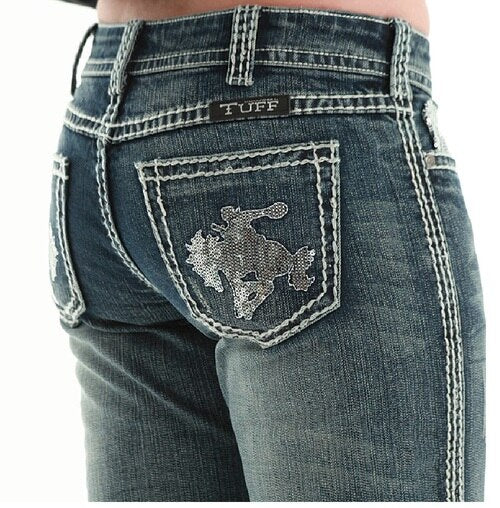 Cowgirl Tuff Wild and Wooly Shimmer Women's Jeans 28x31 - Aces & Eights Western Wear, Inc.