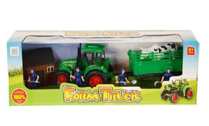 8 Piece Farm Truck Set
