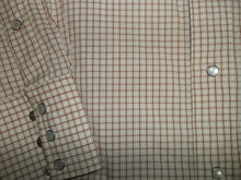 Load image into Gallery viewer, Flying R Red Checkered Western Shirt