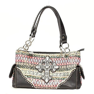 Women's Blazin Roxx Southwest Cross Satchel