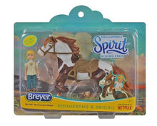 Load image into Gallery viewer, Breyer Boomerang & Abigail