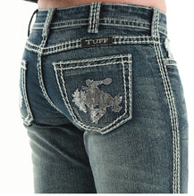 Load image into Gallery viewer, Cowgirl Tuff Wild and Wooly Shimmer Women's Jeans 28x31 - Aces & Eights Western Wear, Inc.