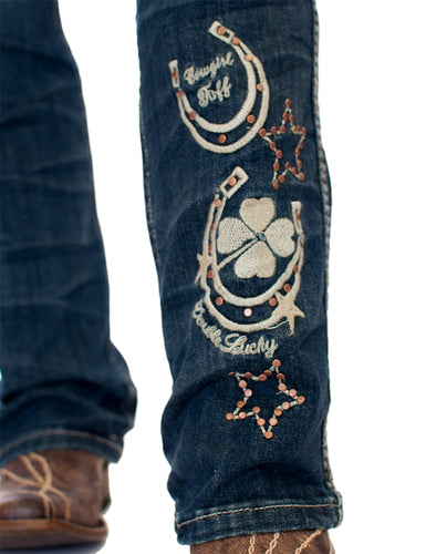Cowgirl Tuff Double Lucky Jeans