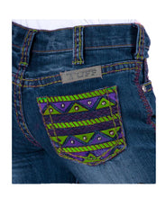 Load image into Gallery viewer, Girls Aztec Reboot Jean