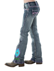 Cowgirl Tuff Girls Aztec Jeans
