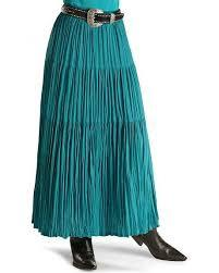 Cattlelac Broomstick Skirt Turquoise 3X - Aces & Eights Western Wear, Inc.
