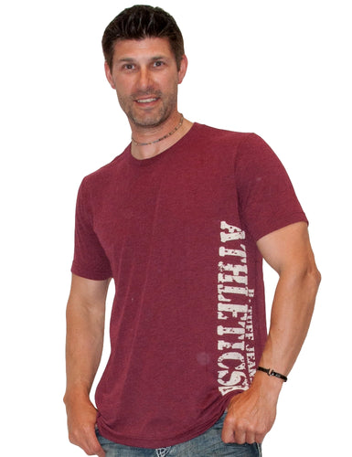 B Tuff Men's Crimson Tee