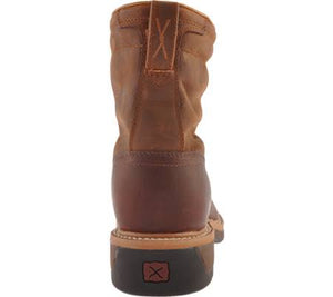 Twisted X Mens Lite Cowboy Lacer Steel Toe Boots MLCSLW1