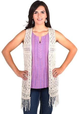 Noble Outfitters Women's Arizona Long Knit Vest