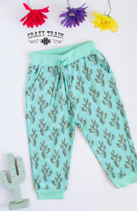 Crazy Train Infant Prickly Pear Joggers