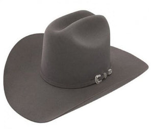 Resistol Tucker Grey Felt Hat