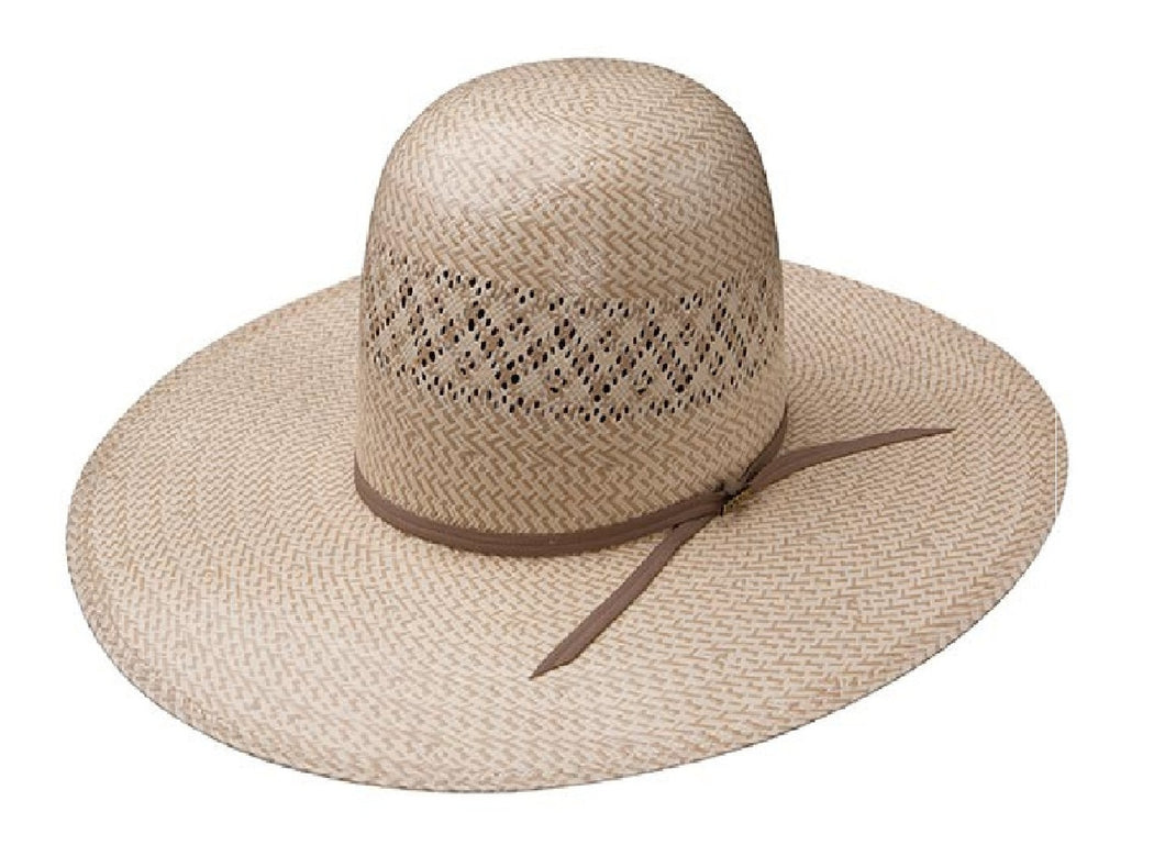 Resistol Twin V Straw Hat 5