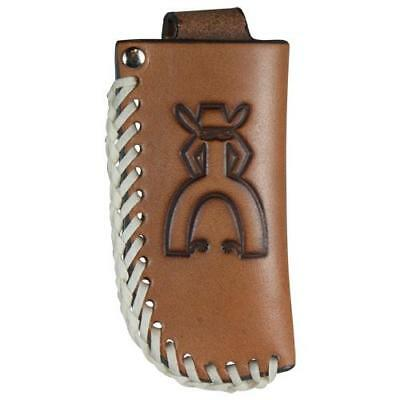 Hooey Punch Sign Knife Sheath w/Bone Stitch