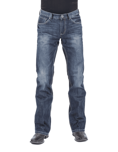 Stetson Low Rise Bootcut Western Denim Jeans
