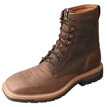 Load image into Gallery viewer, Twisted X Mens Lite Cowboy Lacer Work Boots