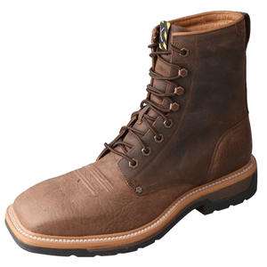 Twisted X Mens Lite Cowboy Lacer Work Boots