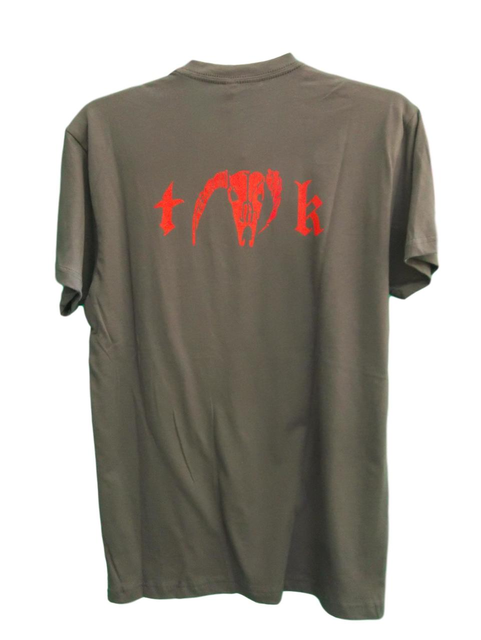 TK Specialties Grey Logo T-shirts