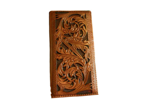 Hooey Rodeo Wallet Tooled w/Cut Out