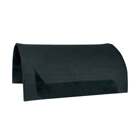 Abetta black felt saddle pad 1/2