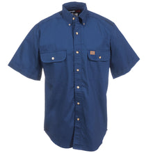 Load image into Gallery viewer, Wrangler Riggs Mens Shortsleeve Button Down Shirt