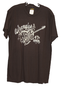 Wrangler Men's Brown Graphic T-Shirt