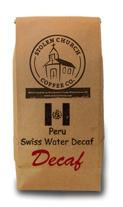 Decaf Swiss Water Peru Coffee