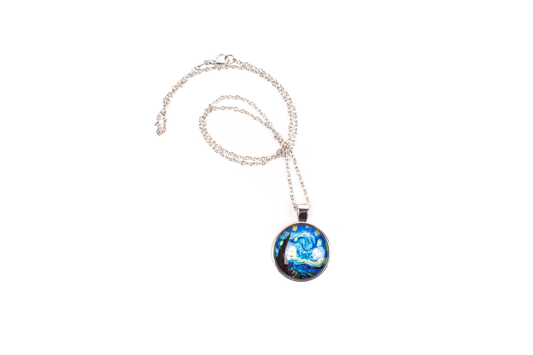 Starry Night Round Necklace