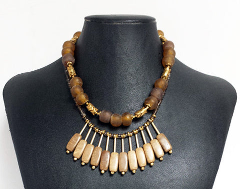 Picture Jasper Collar Necklace