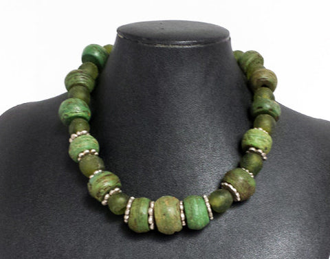 Ancient Hebron Glass Necklace