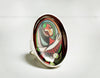 Picasso Portrait Resin Ring