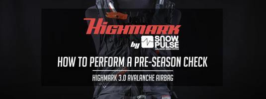 How to do a Pre-Season Check on your Snowpulse 3.0 Avalanche Airbag - Avalanche Safety Solutions