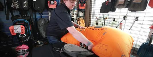 How to Repack a BCA Float 2.0 Avalanche Airbag - Avalanche Safety Solutions