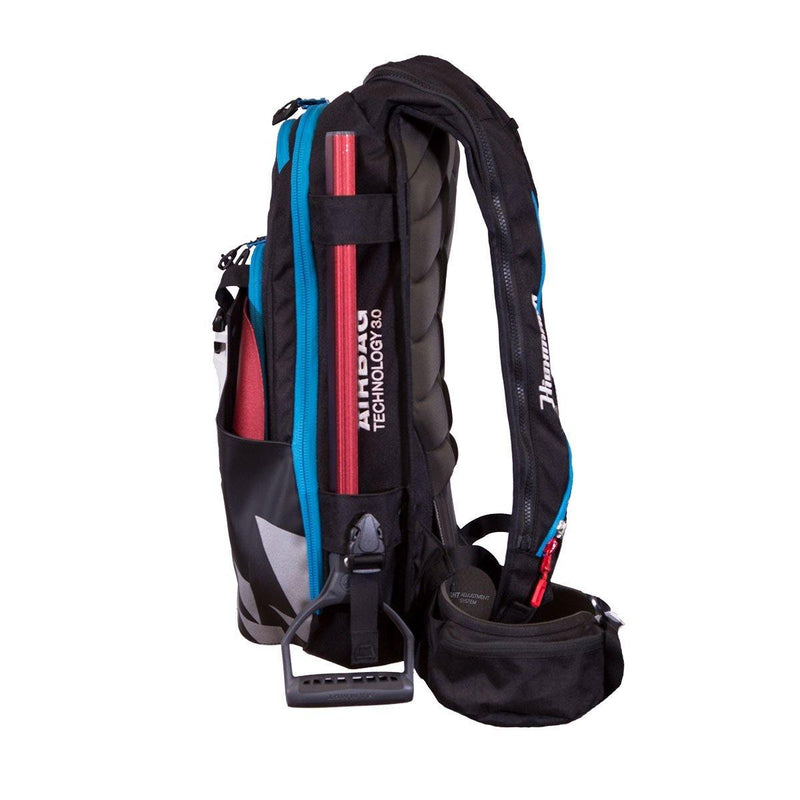 Highmark Pro 3.0 22L P.A.S. - Black/Cyan - Avalanche Safety Solutions