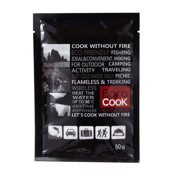 BaroCook 10-Pack of Large Eco-Friendly Heat Packs for Flameless Cooking