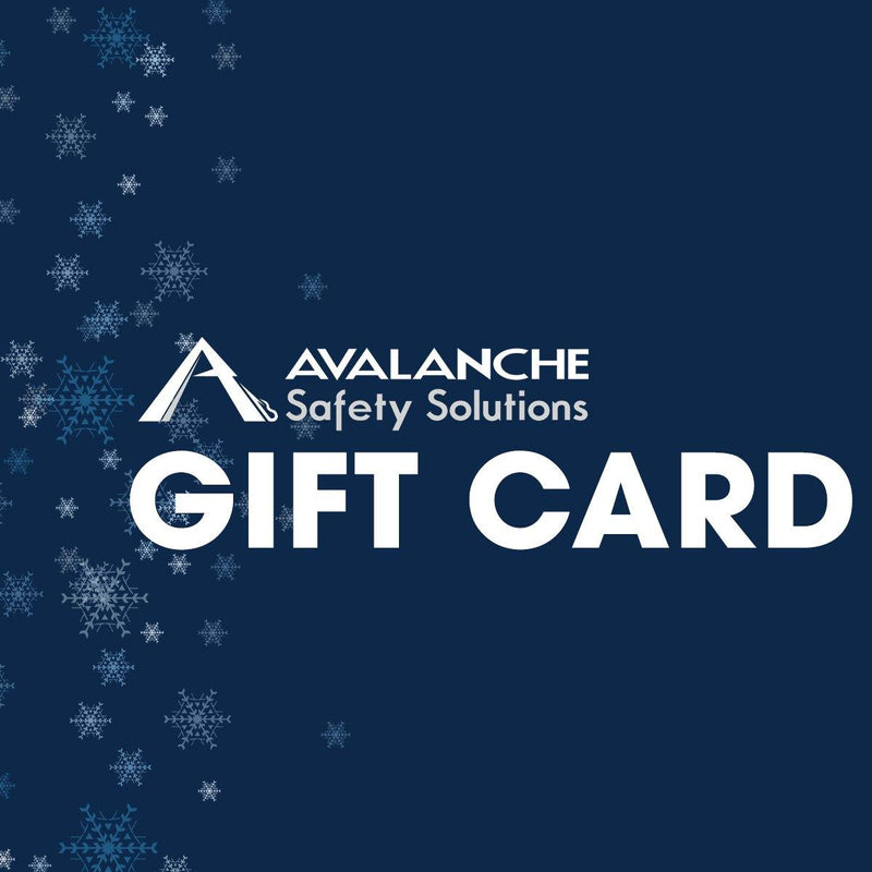 Avalanche Safety Solutions Gift Card - Avalanche Safety Solutions
