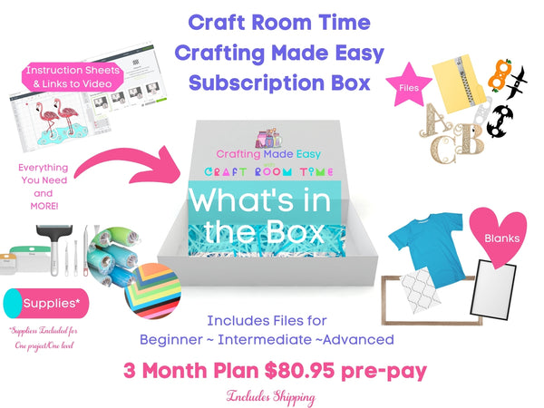 Crafting Made Easy 3 Months Subscription