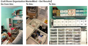 Craft Room Organization Master Mind