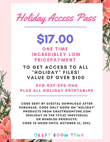 "Holiday Access Pass - All ""Holiday"" Products for One Price"