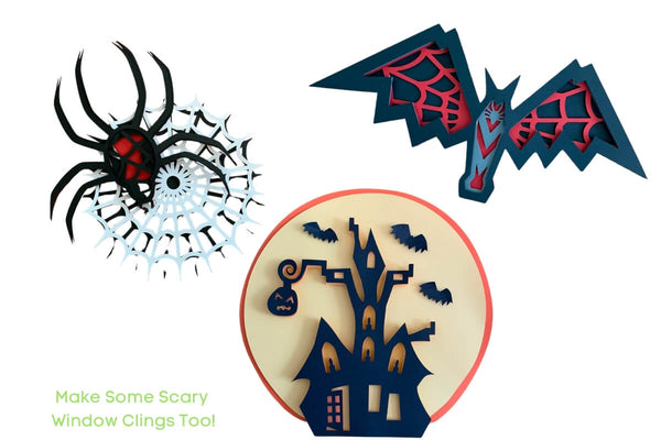 Halloween Layered Files (SVG, DXF, EPS, PNG)