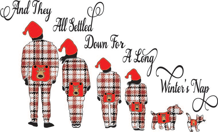 Long Winters Night Plaid (SVG, EPS, PNG, JPG, DXF)