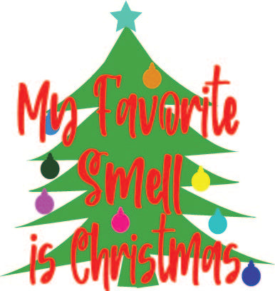 My Favorite Smell is Christmas (SVG, EPS, PNG, JPG, DXF)