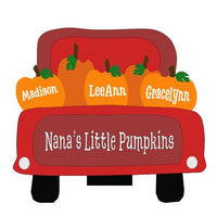 Truck with Pumpkins SVGs (SVG, DXF, EPS, PNG)