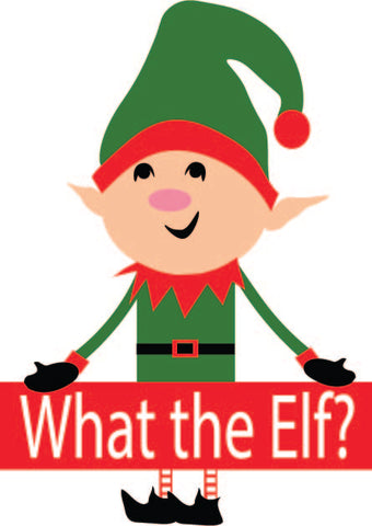 What the Elf (SVG, EPS, PNG, JPG, DXF)