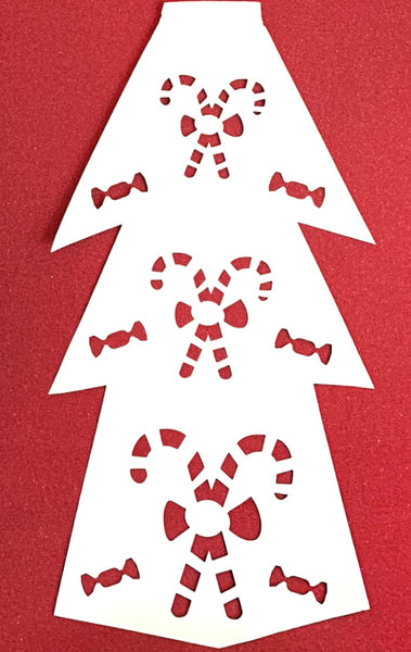 MAKERFEST 10 Holiday Banner Designs (also can be used on the Elegant Paper Christmas Tree)SVG, EPS, DXF, PNG, JPG