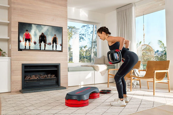 woman performing a Les Mills workout