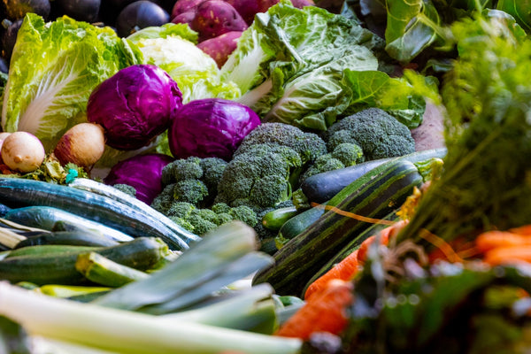 Healthy nutritious vegetables