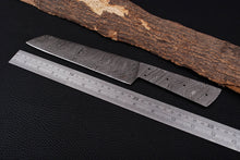 Load image into Gallery viewer, Custom Hand Forged Damascus Steel Blank Blade Full Tang-AJ-3041